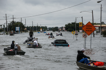 Image of flooding during Hurricane Harvey