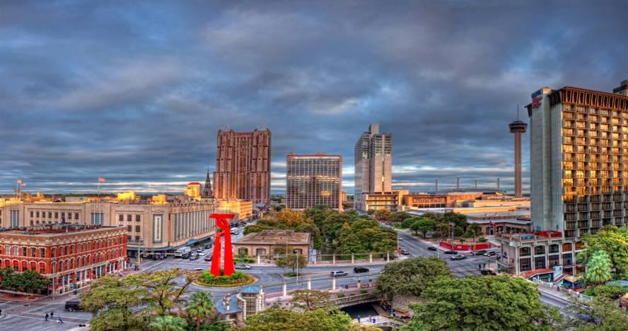 Buildings in San Antonio